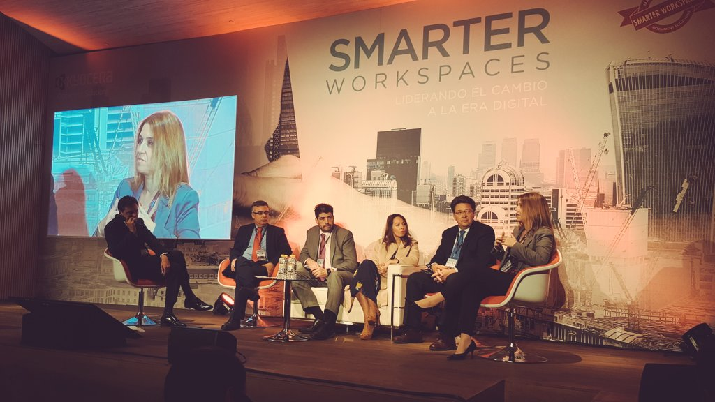 Smarter Workspaces de Kyocera, hacia la transformación digital
