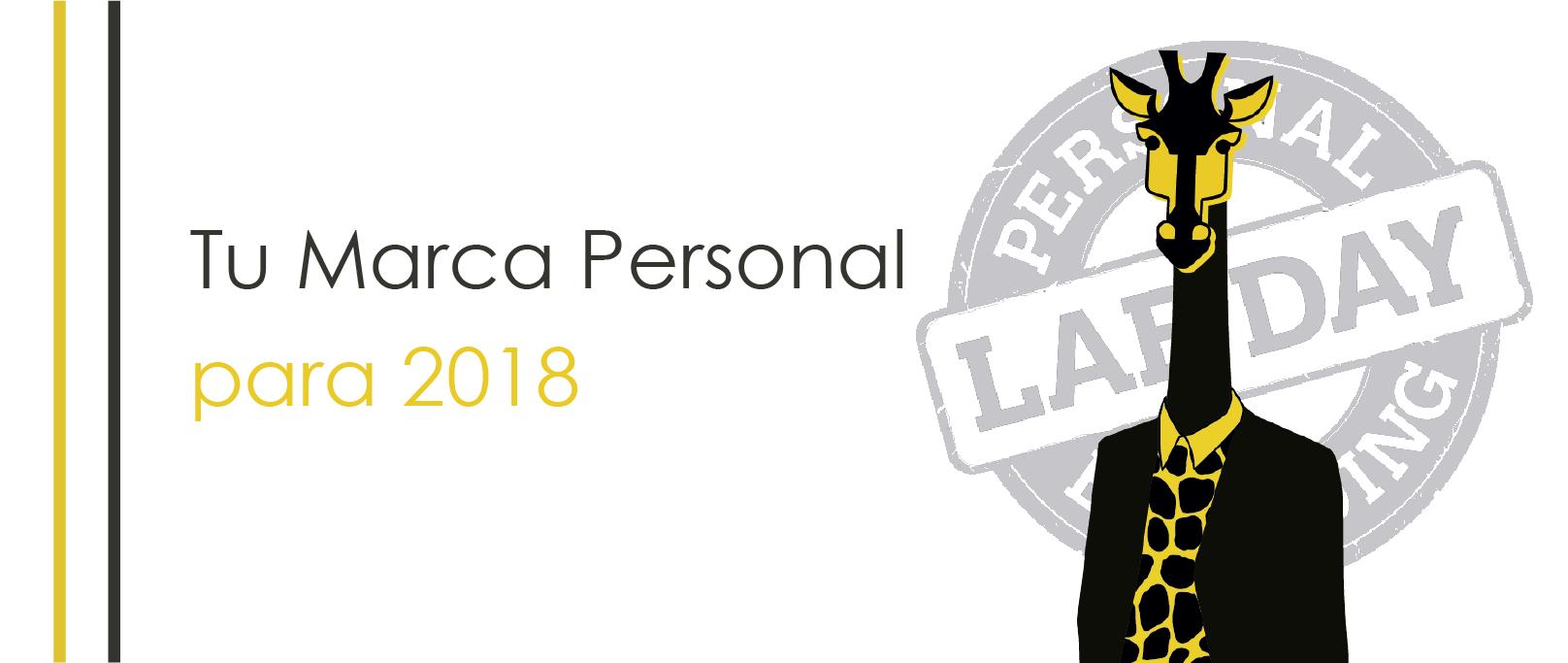 Tu Marca Personal para 2018