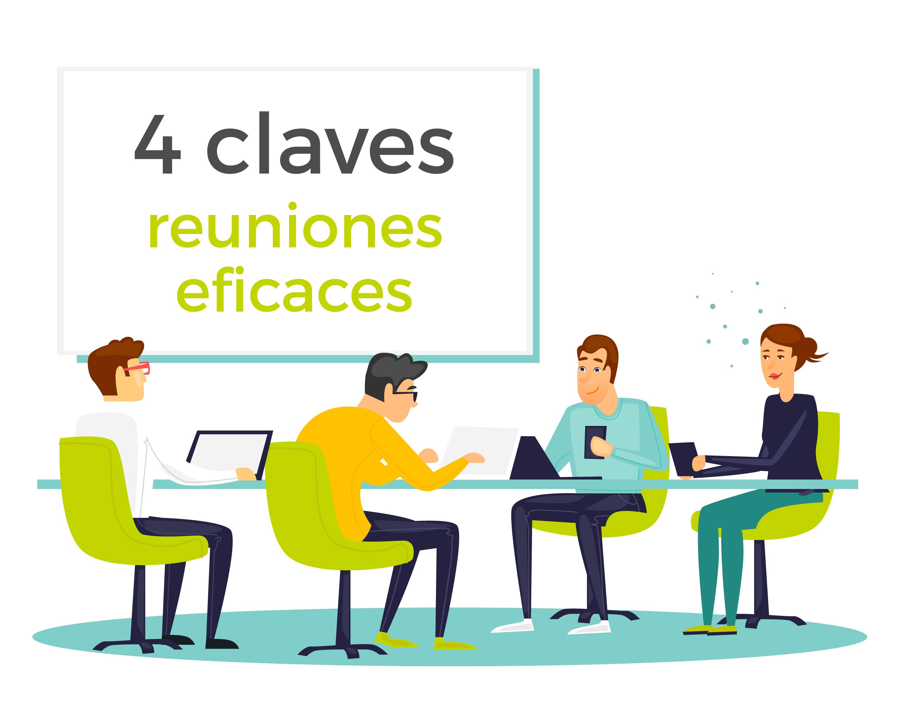 4 claves para generar reuniones eficaces