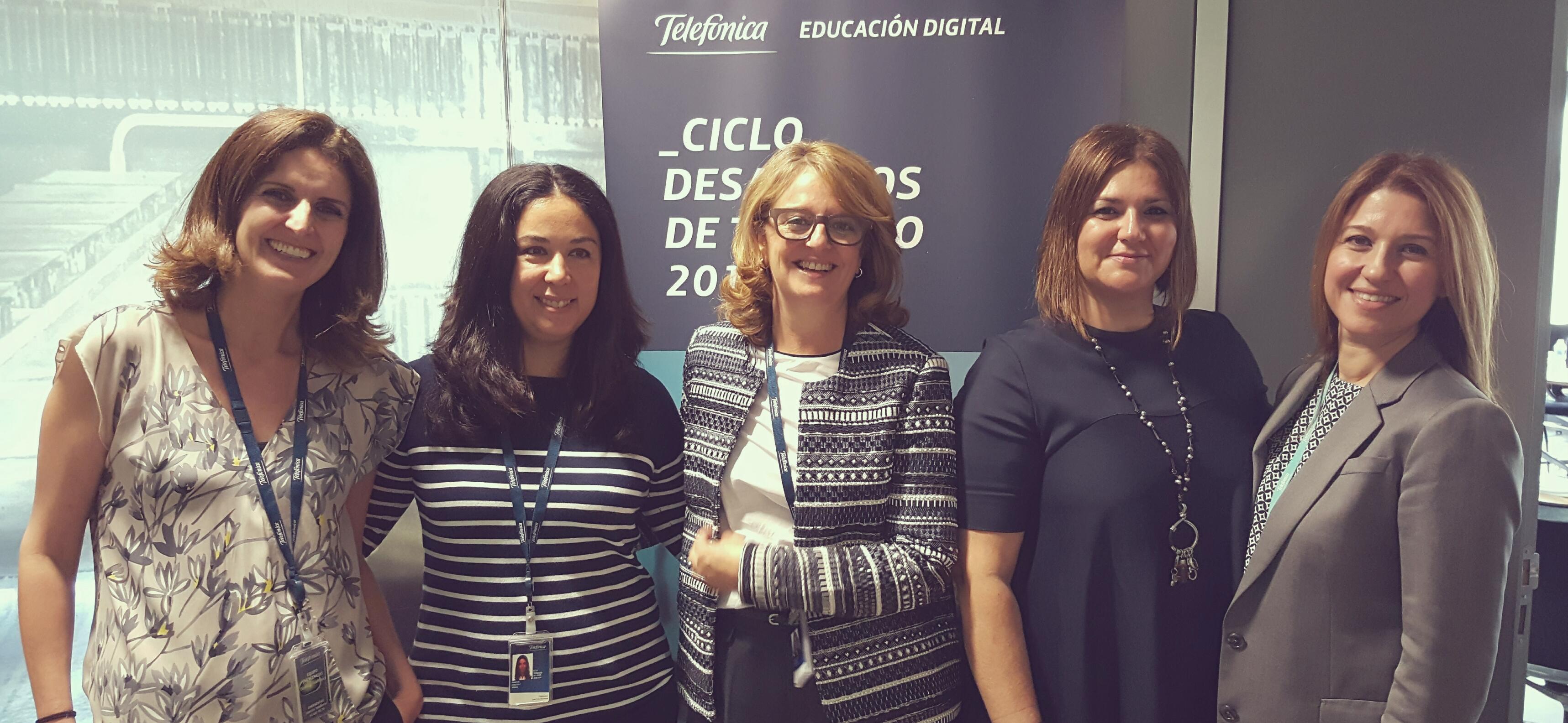 Desayunos en Telefónica Educación Digital: la clave del perfil digital